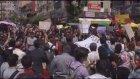 """Karabük'te """"imam hatip lisesi"""" protestosu"""