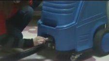 Buharlı Halı Koltuk Yıkama Makinası