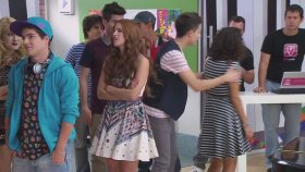Violetta 2 - Naty Y Federico Bailan Ser Mejor