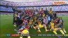 Atletico Madrid'li Filipe Luis, Türk Bayrağı ile Sevindi