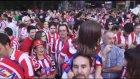 18 yıl ardan sonra gelen şampiyonluk Atletico Madrid taraftarlarını sokağa döktü - MADRİD