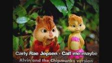 Carly Rae Jepsen - Call Me Maybe (Alvin & Chipmunks )