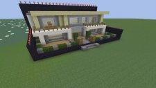 Minecraft: Hızlı Yapı Kapışmaları - S1/ Bölüm 1 - Leaflook Vs Cravled - Modern Ev [turkish/türkçe]