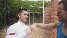 Bodybuilder Meets Parkour / Freerunning