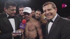 Juan Manuel Marquez vs Mike Alvarado Pelea Entrevista Post Fight