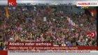 Atletico Madrid Şampiyonluğu Kutladı