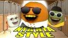 Annoying Orange - Orange Nya Nya Style ( Gangnam Style Spoof )