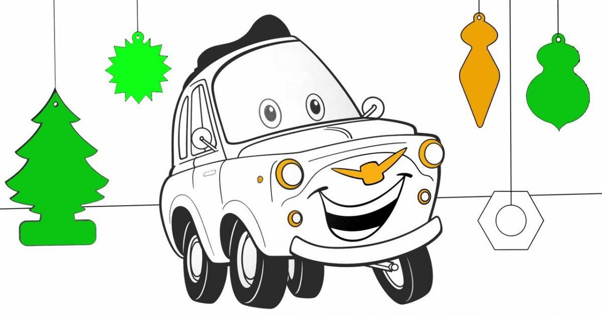 çizgi Film Arabalar Pixar Boyama Kitabı Izlesenecom