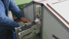 Konveyörlü Parlatma Makinası