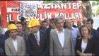 Maden faciası -  CHP Gençlik Kolları üyeleri oturma eylemi yaptı - GAZİANTEP