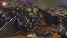Badem Ve Yabanmersinli Mozaik Pasta Tarifi - Yumurtasız Kolay Mozaik Pasta Nasıl Yapılır?