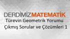 Türevin Geometrik Yorumu Çıkmış Sorular ve Çözümleri 1
