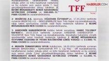 Tahkim, Fenerbahçe'nin Cezasını Onadı