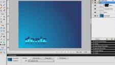 Adobe Fireworks ile Yansımalı Dalgalı Yazı yapmak