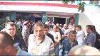 """Kamu maden işçilerinden """"siyah çelenkli"""" protesto - MANİSA"""