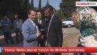 Tümer Metin,Murat Yalçın ile Birlikte Şehitlikte