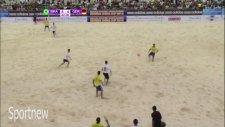 Plaj Futboluna Çağ Atlattırmak