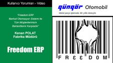 Freedom ERP Barkod Otomasyon Sistemi ile Tüm Müşterilerimizin Beklentilerini Karşıladık