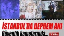 İstanbul'da Deprem Güvenlik Kameralarında