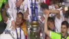 Real Madrid Şampiyonlar Ligi Kupasını Böyle Kaldırdı!