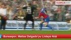 Bursaspor, Matias Delgado'yu Listeye Aldı