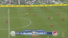 İrlanda Cumhuriyeti 0 - 2 Türkiye (Gol Tarık Çamdal)