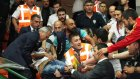 Banvit - Galatasaray maçında çıkan olaylar