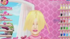 Barbie Saç Kesimi - Beceri Oyunları