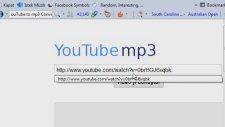 Youtube'dan MP3 Formatında Müzik İndirme