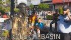 Pandomim Sanatçısına Yapılan Polis Müdahalesine Halk Müdahalesi