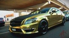 Altın Kaplama Mercedes