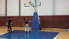 Oruç Reis Anadolu İmam Hatip Ortaokulu Basket Takımı Turnike Çalışması