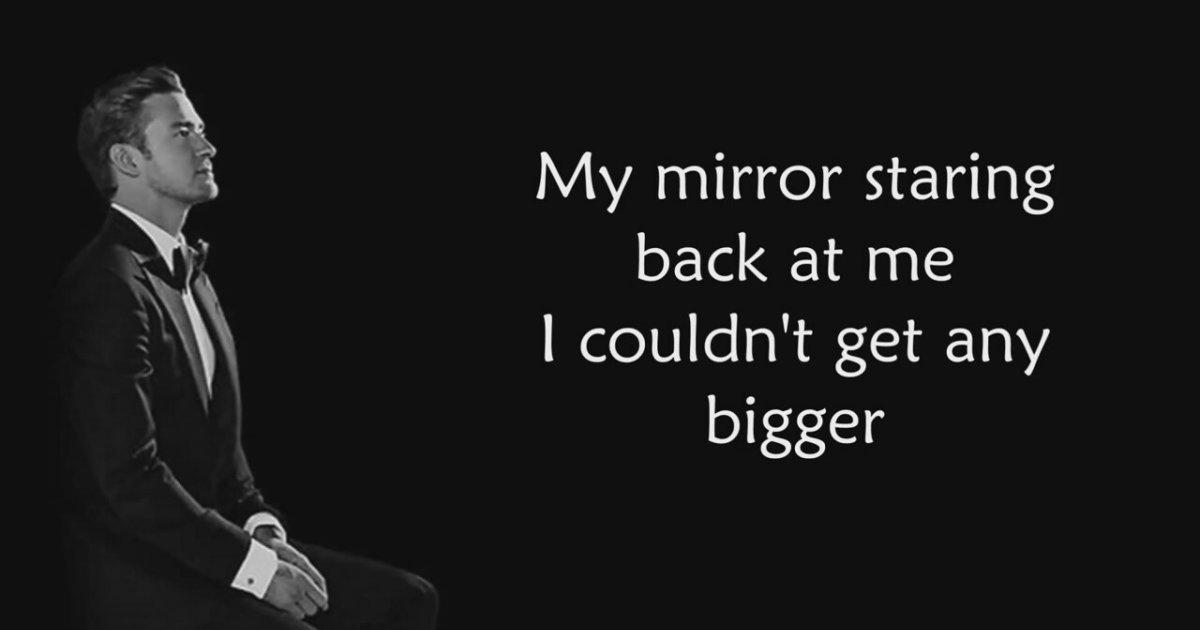Justin timberlake mirrors dinle for Mirror justin timberlake lyrics