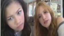 Bella Thorne And Zendaya Evening Chat August 13, 2012 Part 1