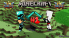 Minecraft: Minigames (The Walls) Bölüm 1: Double Fail  W/nkc