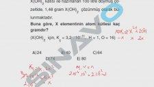 SINAVO - Kimya - Doymuş ve Aşırı Doymuş Çözeltiler