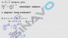 SINAVO - MATEMATİK - Birinci Dereceden Eşitsizlik Çözümleri