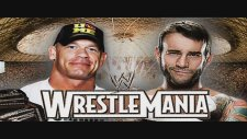John Cena vs CM Punk Wrestlemania