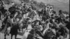 Ottoman forces operating in World War I.  Mustafa Kemal Ataturk seen with officia...HD Stock Footage