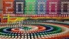 200 Bin Aboneye Ulaşan Kullanıcının Etkileyici Domino Şovu