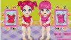 Bebek Oyunları İkiz Bebekleri Giydir