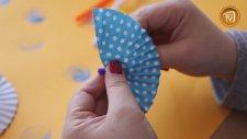 Cupcake Kağıdından Şemsiye