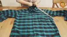 Eski Gömlekten Önlük Yapımı