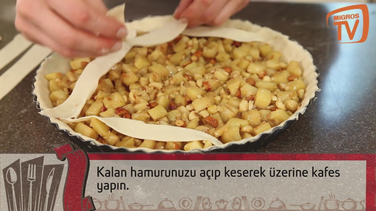 Elmalı Tart Tarifi Videosu