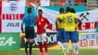 İngiltere-Ekvador maçında Liverpool-Manchester United kavgası!