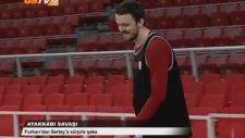 Erkek Basketbol | Furkan Aldemir'den Sertaç Şanlı'ya Sürpriz Şaka