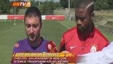 Futbol | Erman Kılıç Ve Chedjou Açıklamalarda Bulundu