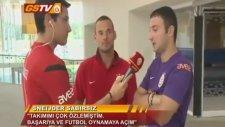Futbol Hazırlık Kampı: Wesley Sneijder Özel Açıklamalarda Bulundu