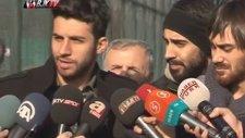 Futbolcularımız Veli Kavlak Ve İsmail Köybaşı'ndan Açıklamalar
