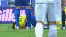 Neymar'a 2. saniyede faul